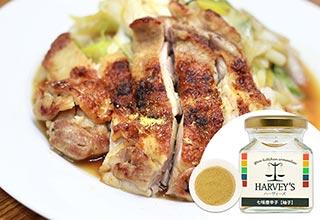 鶏肉とネギの照り焼き